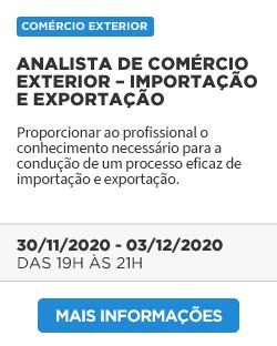Analista de Comércio Exterior – Importação e Exportação